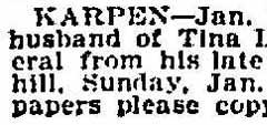 Benjamin Chicago Tribune-Jan 11-1896