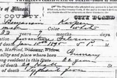 1896-Benjamin Karpen Death Certificate