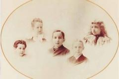 Solomon Karpen Children ca 1895