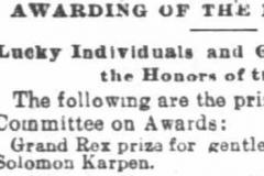 1895-Chic Trib-Ap 5-Solomon Prize