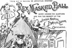 1895-Chic Trib-Ap 5Rex Ball-Invite