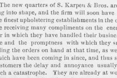 American Cabinetmaker & Upholsterer, May 4, 1889, 13.